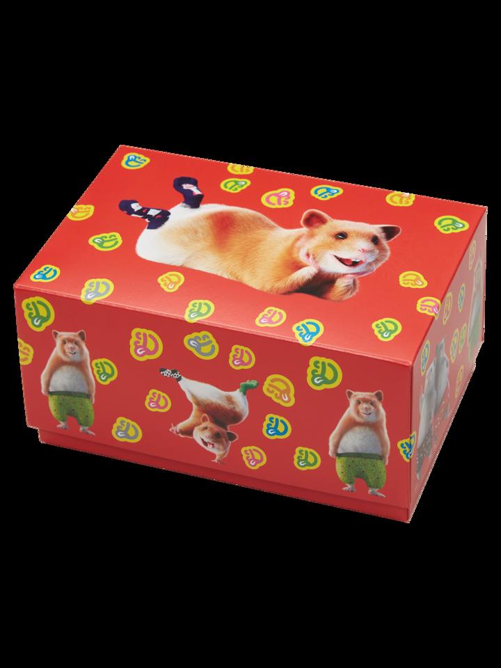 Zľava Klasična darilna škatla Dedolesovi hrčki