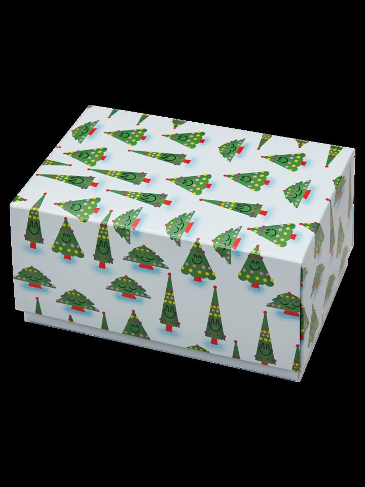 Tip na dárek Klasická dárková krabička Vánoční stromek