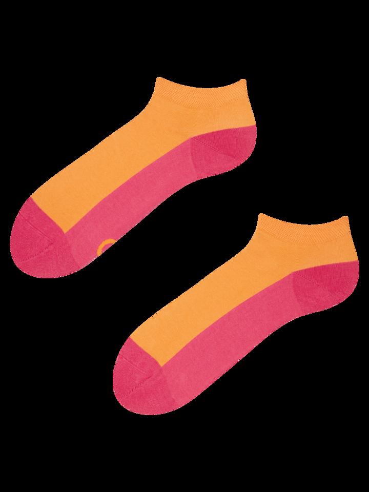 Tip na dárek Malinově růžové kotníkové ponožky Stopa