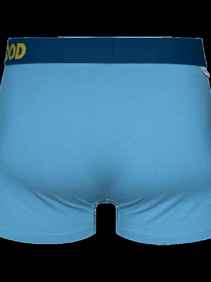 pro dokonalý a originální outfit Modré pánské boxerky
