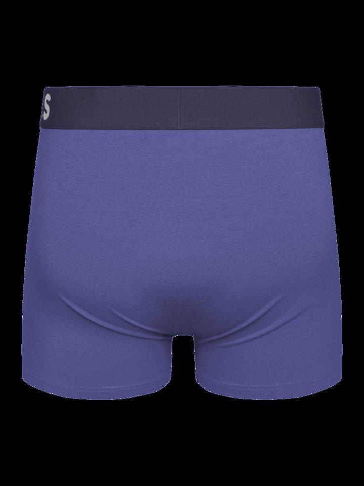 Tip na darček Modrý Iris pánske boxerky