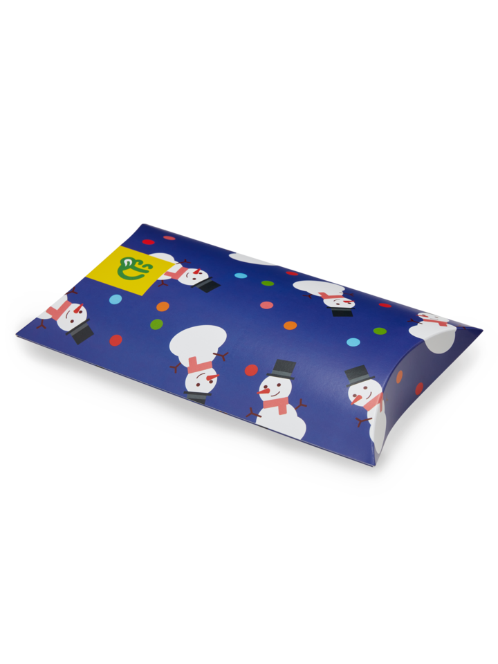 Sale Oval Gift Box Snowfight