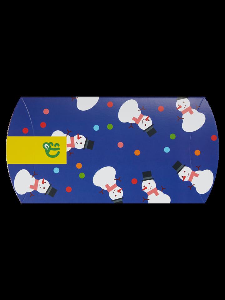 Pre dokonalý a originálny outfit Овална кутия за подарък Бой със снежни топки
