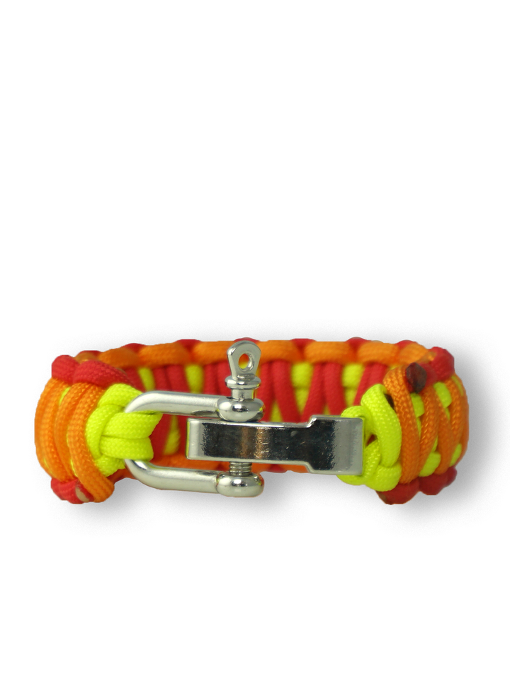 Sale Paracord Bracelet Sunset With Adjustable Buckle