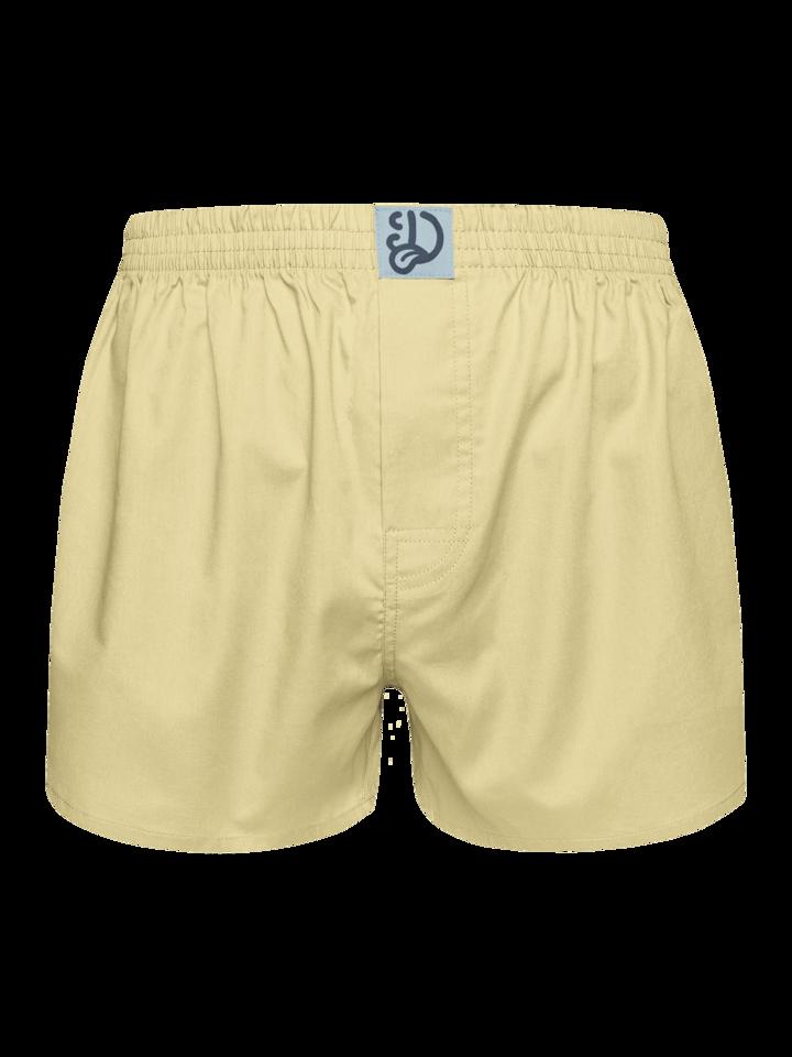 Geschenktipp Pastellgelbe Shorts für Männer