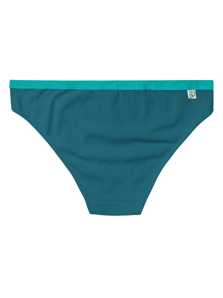 Tip na darček Petrolejovo modré dámske nohavičky