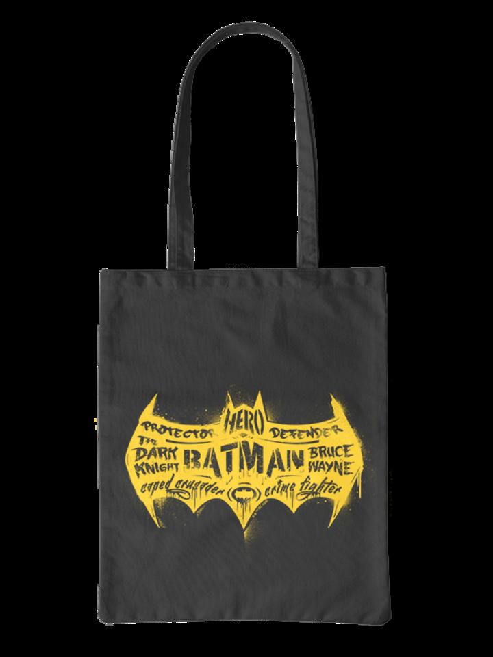 Pre dokonalý a originálny outfit  Torba płócienna DC Comics ™ Batman Logo