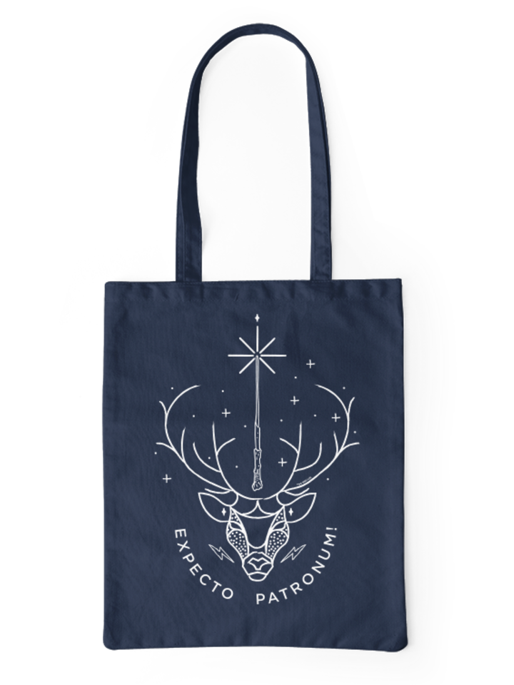 Looking for an original and unusual gift? The gifted person will surely surprise with Canvas Tote BagHarry Potter ™ Expecto Patronum