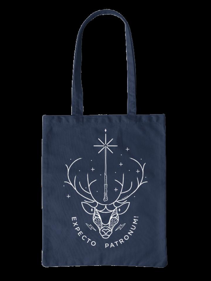 Hledáte originální a neobvyklý dárek? Obdarovaného zaručeně překvapí Plátěná taška Harry Potter ™ Expecto Patronum
