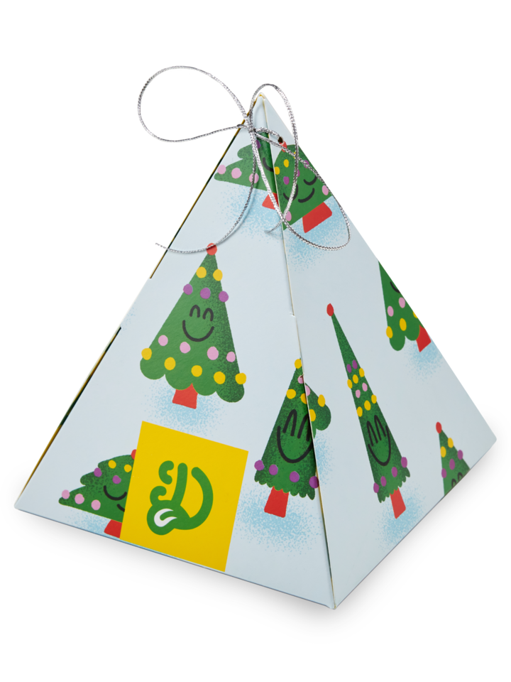 Gift idea Scented Pyramid Gift Box Christmas Tree