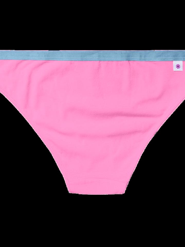 Lifestyle foto Ružové dámske nohavičky