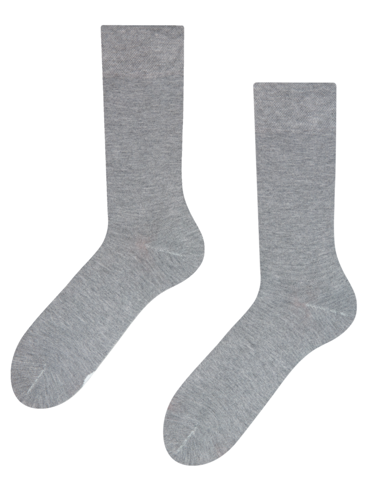 Lifestyle photo Grey Bamboo Socks
