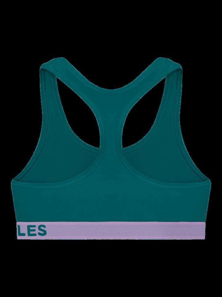 Lifestyle foto Bralette vert émeraude pour femmes