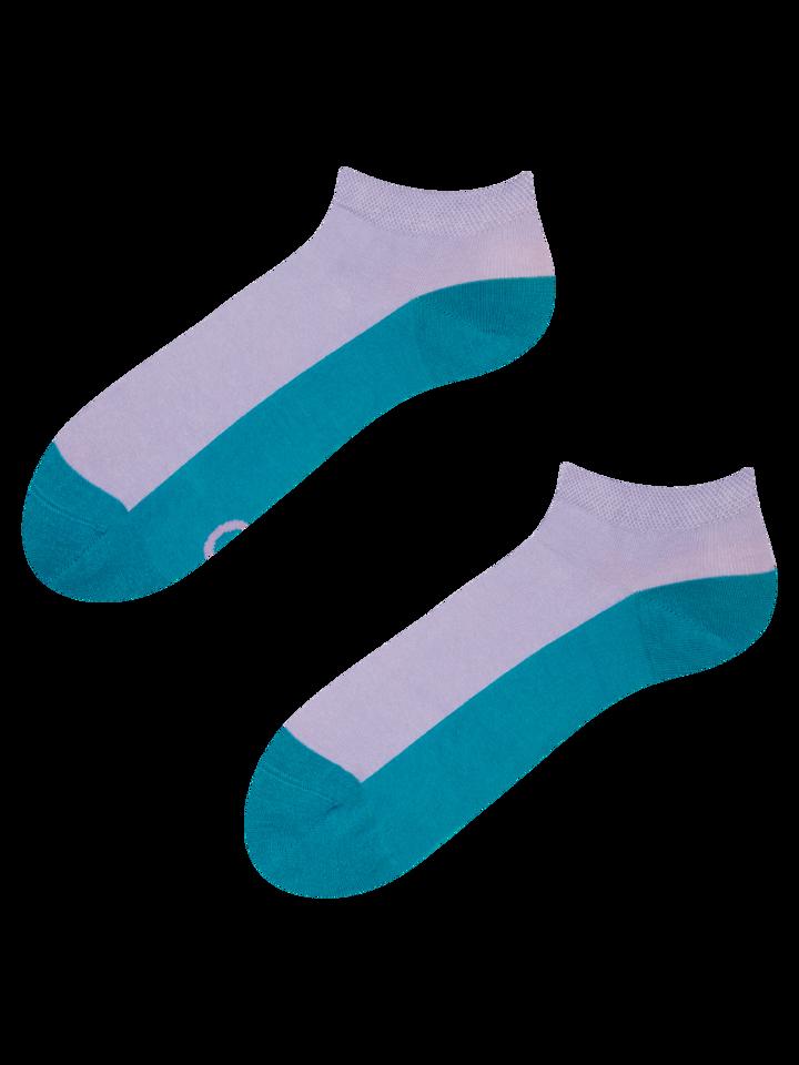 Geschenk von Dedoles Smaragdgrüne Knöchelsocken Fußabdruck