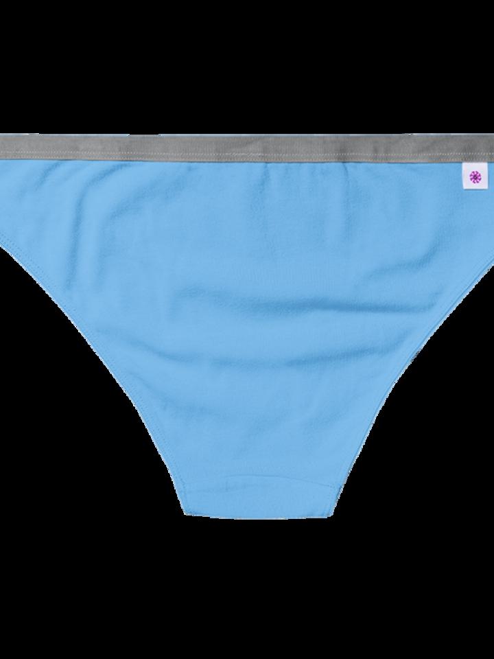 Pre dokonalý a originálny outfit Light Blue Women's Briefs