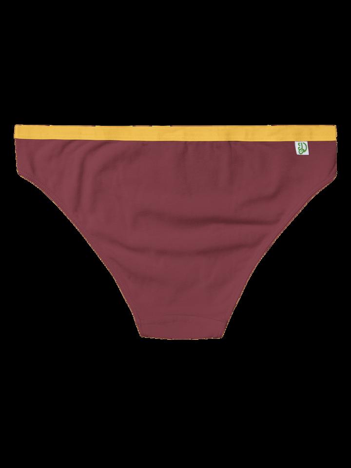 Výpredaj Tmavotehlové dámske nohavičky