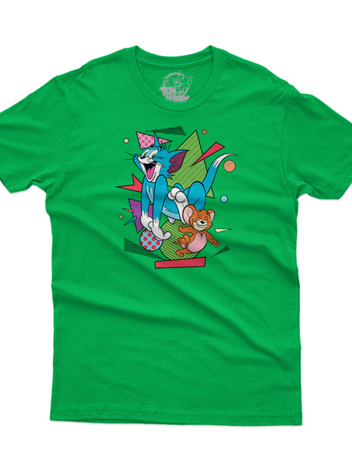 Lifestyle photo T-Shirt Tom & Jerry™ Geometry