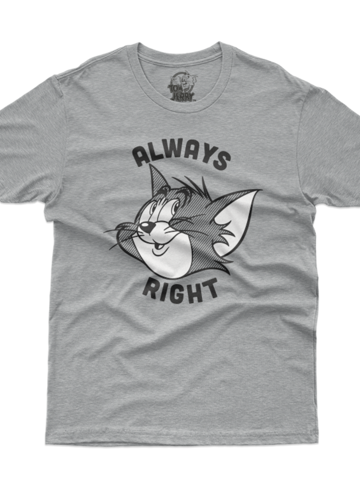 Gift idea T-Shirt Tom & Jerry Always Right
