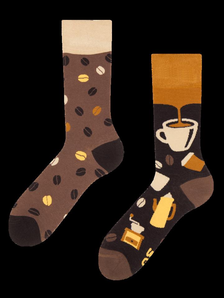 Obrázok produktu Živahne bambusove nogavice Kavne zrna