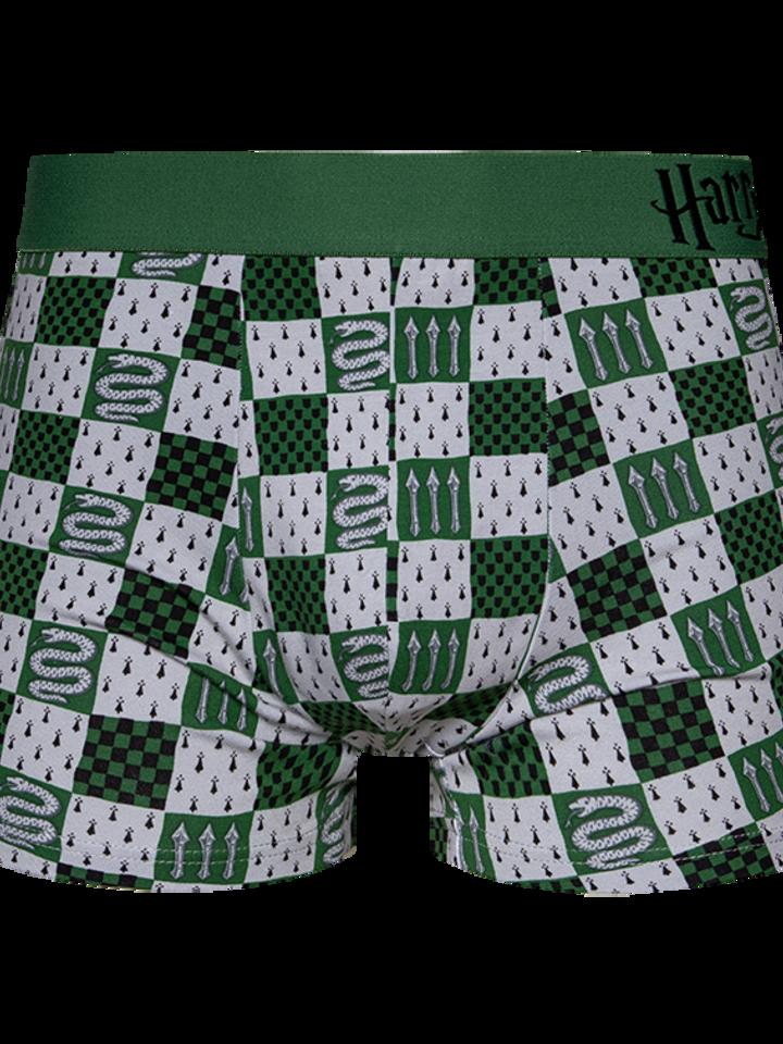 Pre dokonalý a originálny outfit Veselé pánske boxerky Harry Potter ™ Slizolin
