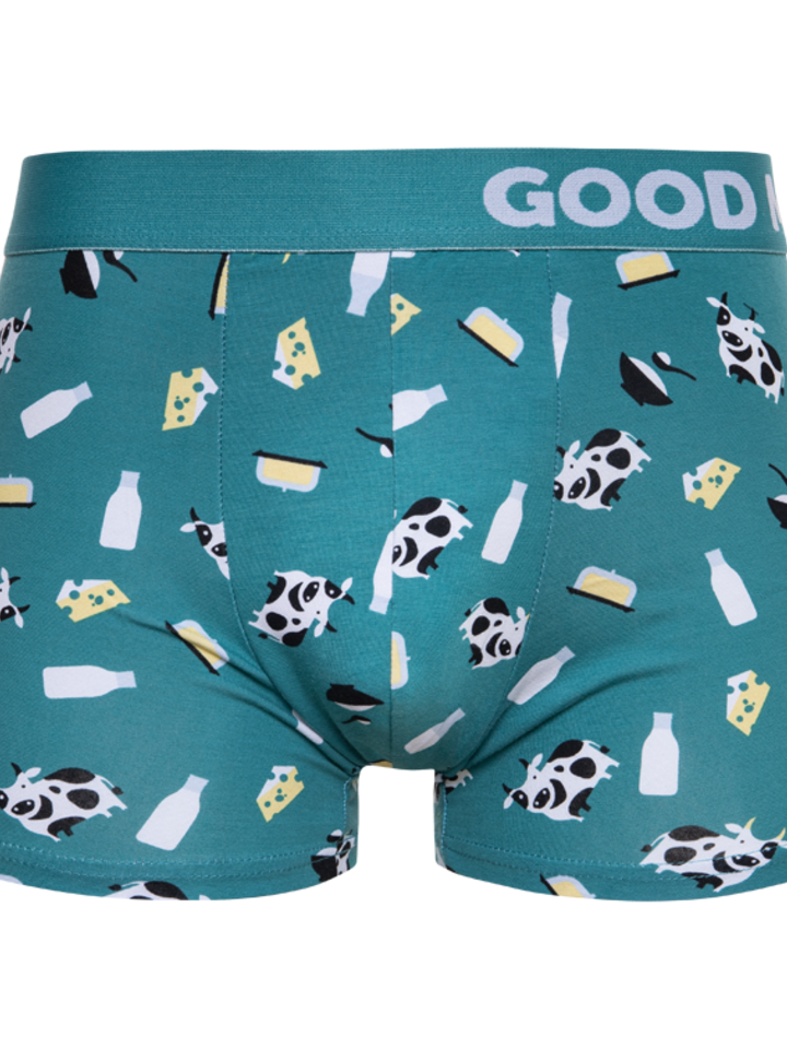 Looking for an original and unusual gift? The gifted person will surely surprise with Men's Trunks Cow