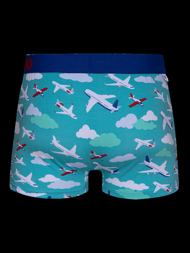 Pre dokonalý a originálny outfit Men's Trunks Airplanes & Clouds