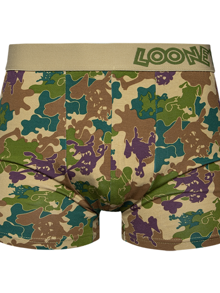 Sale Looney Tunes™ Men's Trunks Camouflage