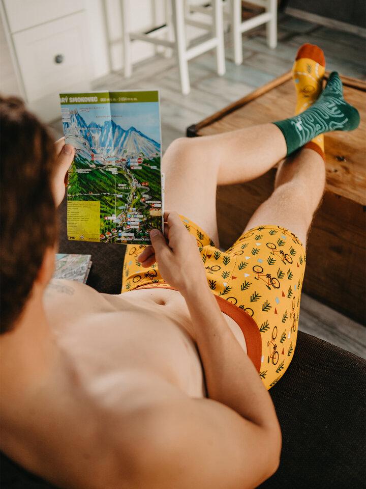 Obrázok produktu Veselé pánske boxerky Na trase