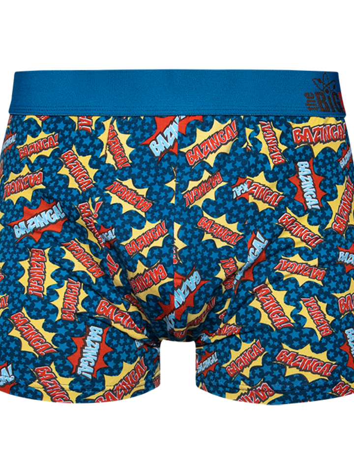 Gift idea Big Bang Theory ™ Men's Trunks Bazinga