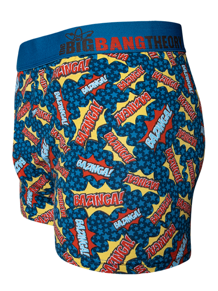 Original gift Big Bang Theory ™ Men's Trunks Bazinga