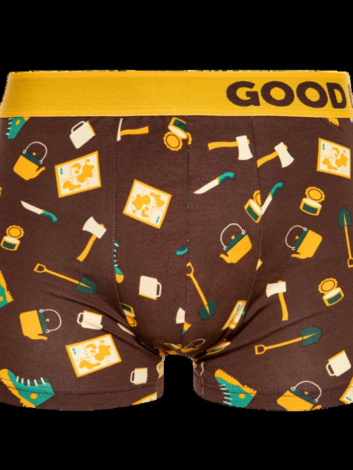 für ein vollkommenes und originelles Outfit Lustige Boxershorts für Männer Touristik