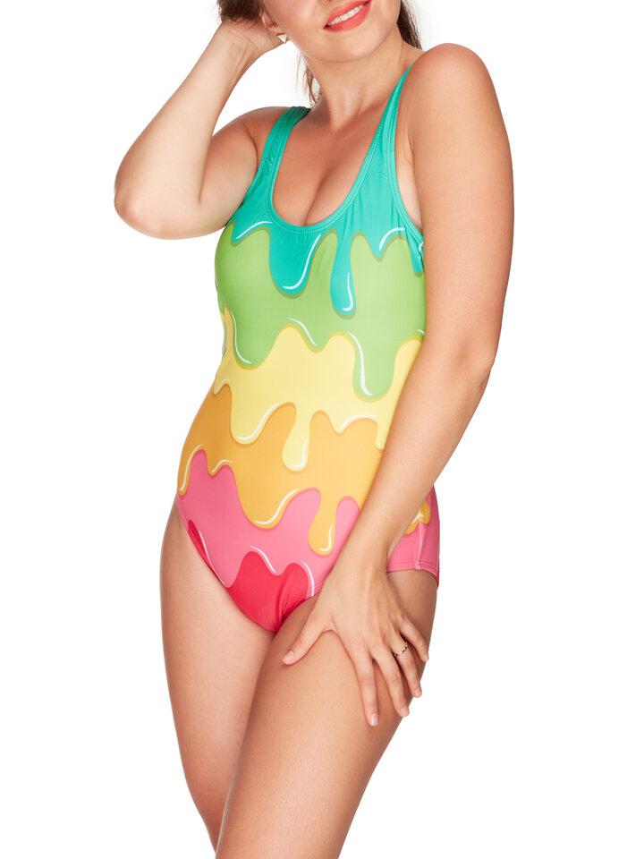 Potešte sa týmto kúskom Dedoles One-piece Swimsuit Colour splash