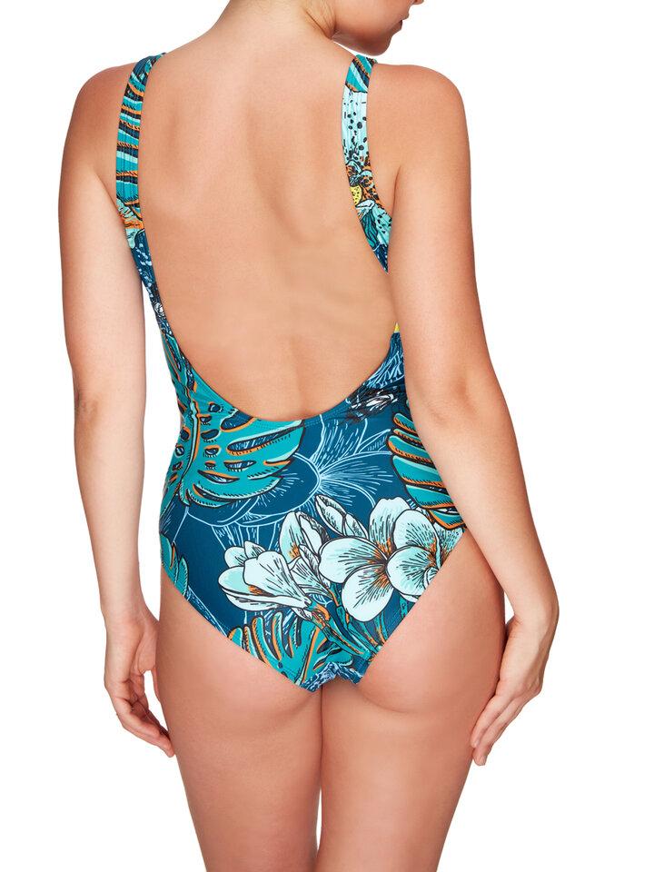 Potešte sa týmto kúskom Dedoles One-piece Swimsuit Tropical jungle