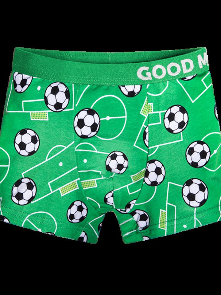 Pre dokonalý a originálny outfit Vrolijke jongens boxershorts Voetbal