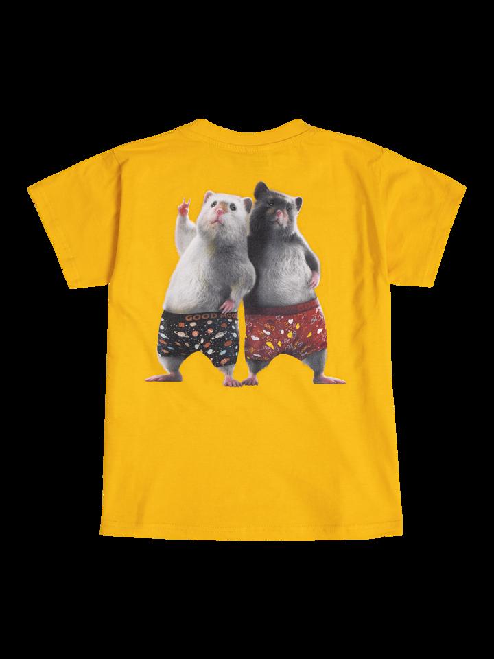 Lifestyle foto Veselé detské tričko Dedoles škrečky