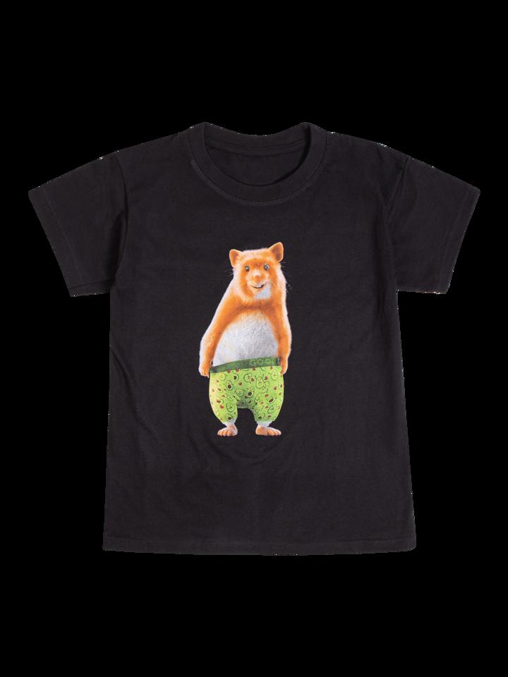 Potešte sa týmto kúskom Dedoles Veselé detské tričko Dedoles škrečok