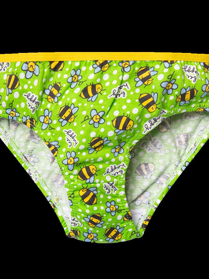Foto Veselé dívčí kalhotky Včely