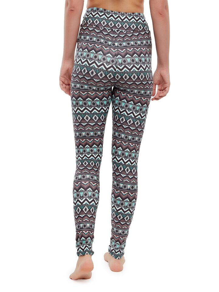 Zľava Vrolijke high-waisted leggings Ornament