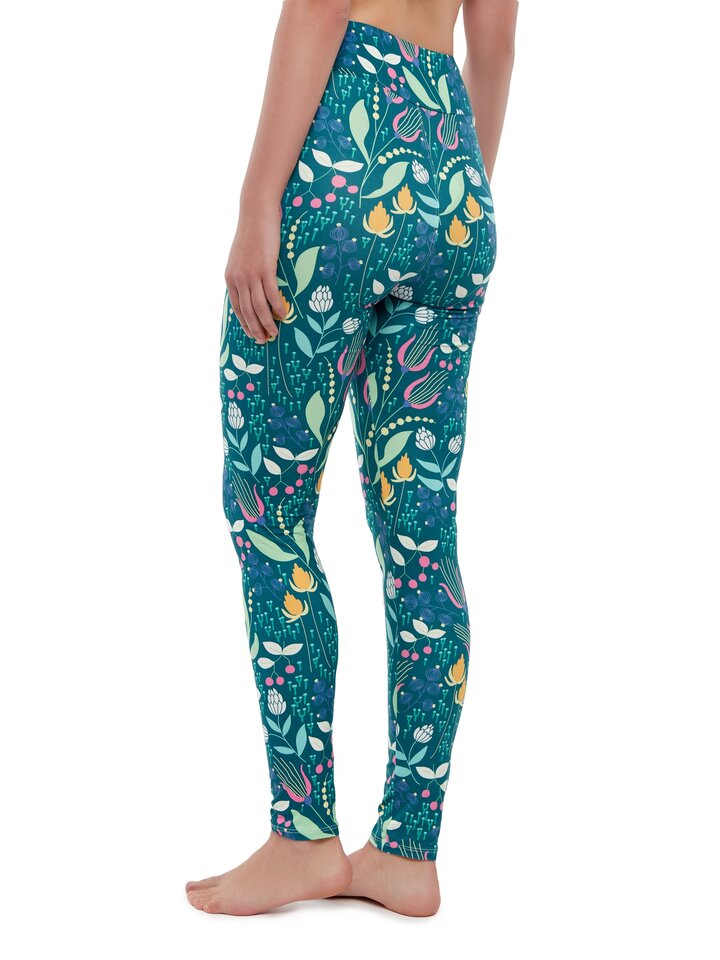 Original gift High Waisted Leggings Dreamy Meadow