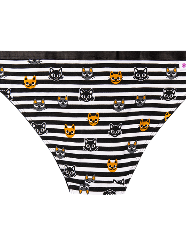 Original gift Women's Briefs Cats & Stripes