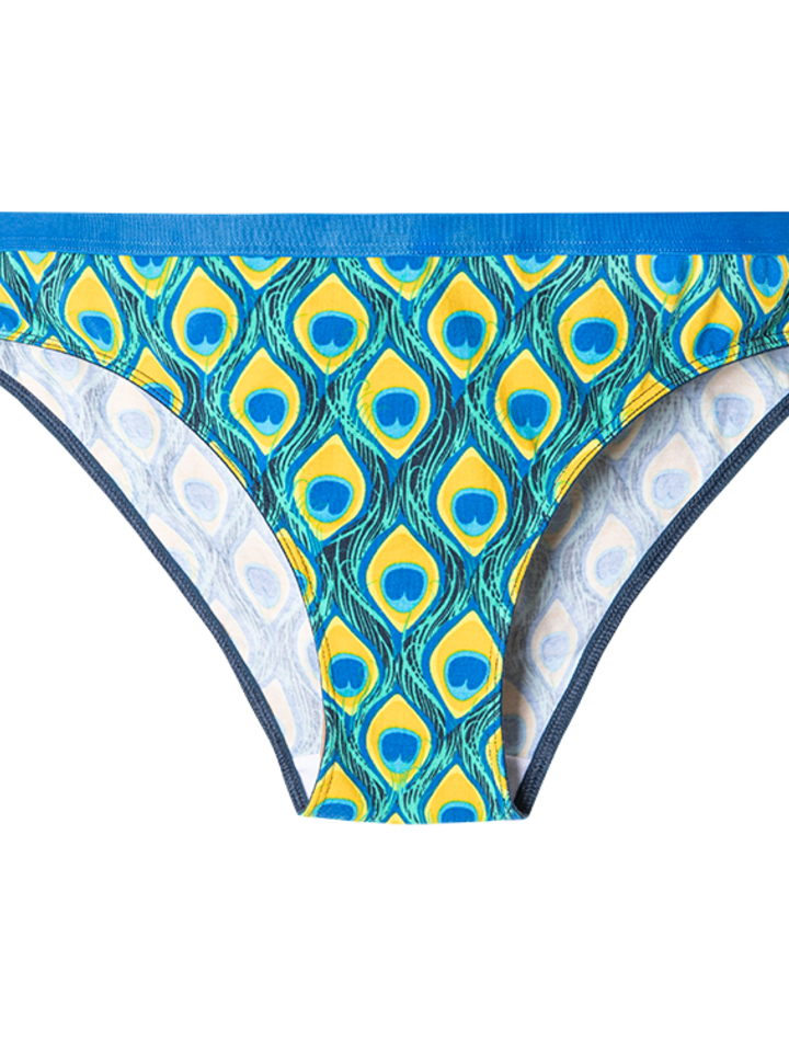 Looking for an original and unusual gift? The gifted person will surely surprise with Women's Briefs Peacock