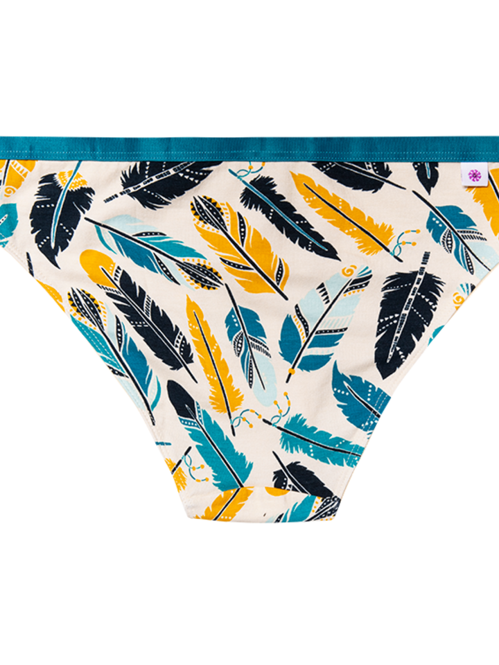 Looking for an original and unusual gift? The gifted person will surely surprise with Women's Briefs Feathers