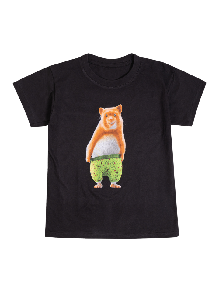 Pre dokonalý a originálny outfit Veselé pánske tričko Dedoles škrečok