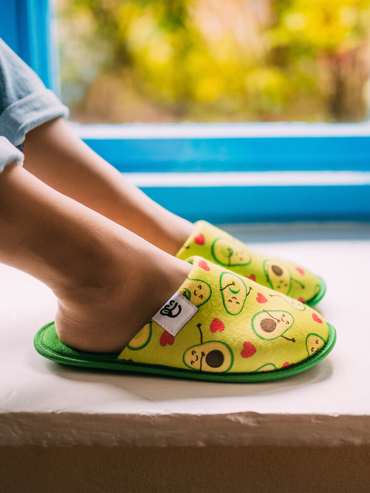 Sale Slippers Avocado Love