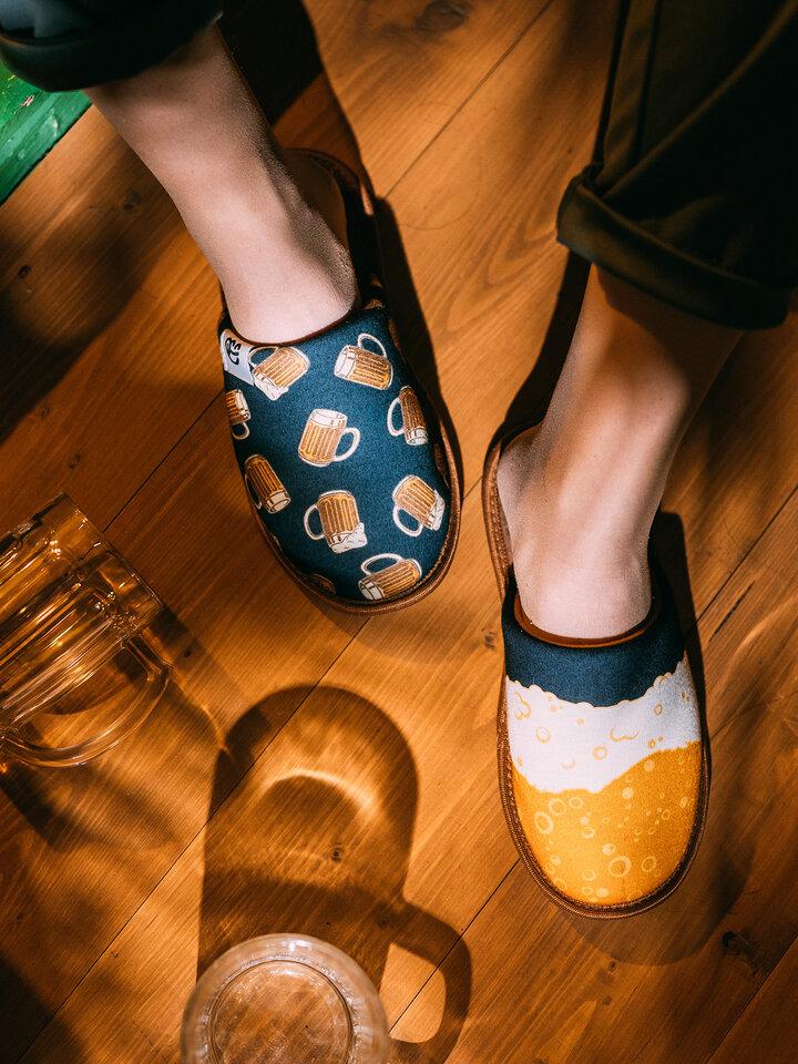 Tip na darček Veselé papuče Čapované pivo