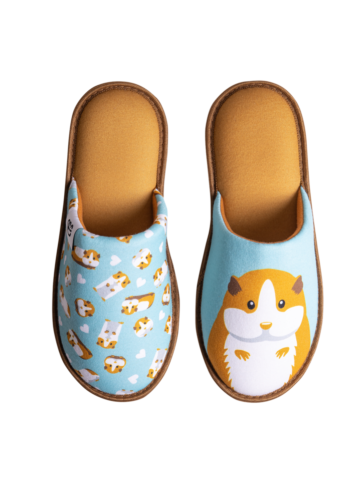 Looking for an original and unusual gift? The gifted person will surely surprise with Slippers Guinea Pig