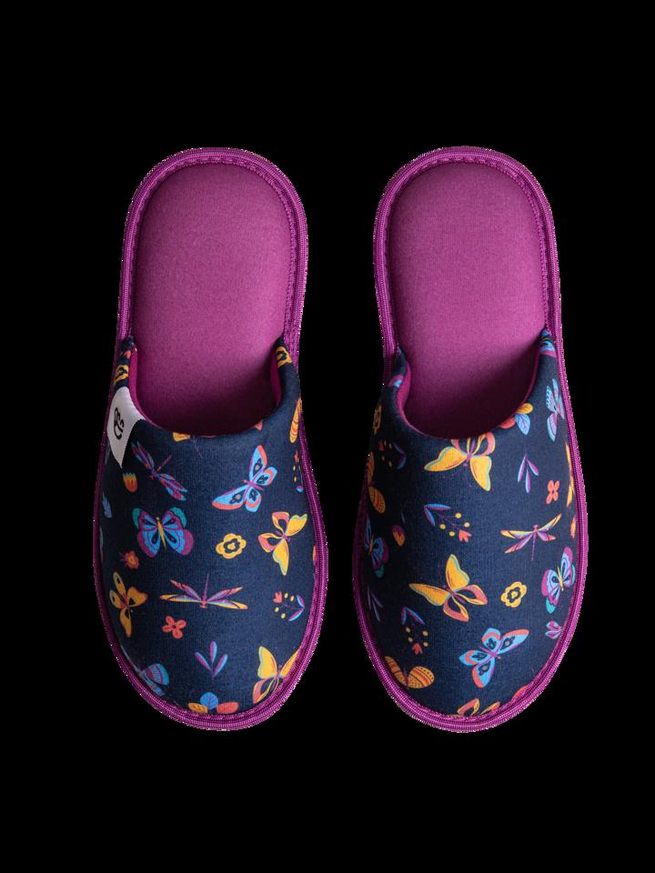 Potešte sa týmto kúskom Dedoles Vesele papuče Leptiri