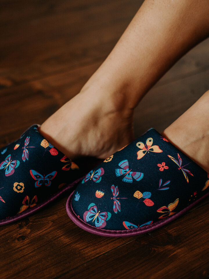 Lifestyle photo Slippers Butterflies