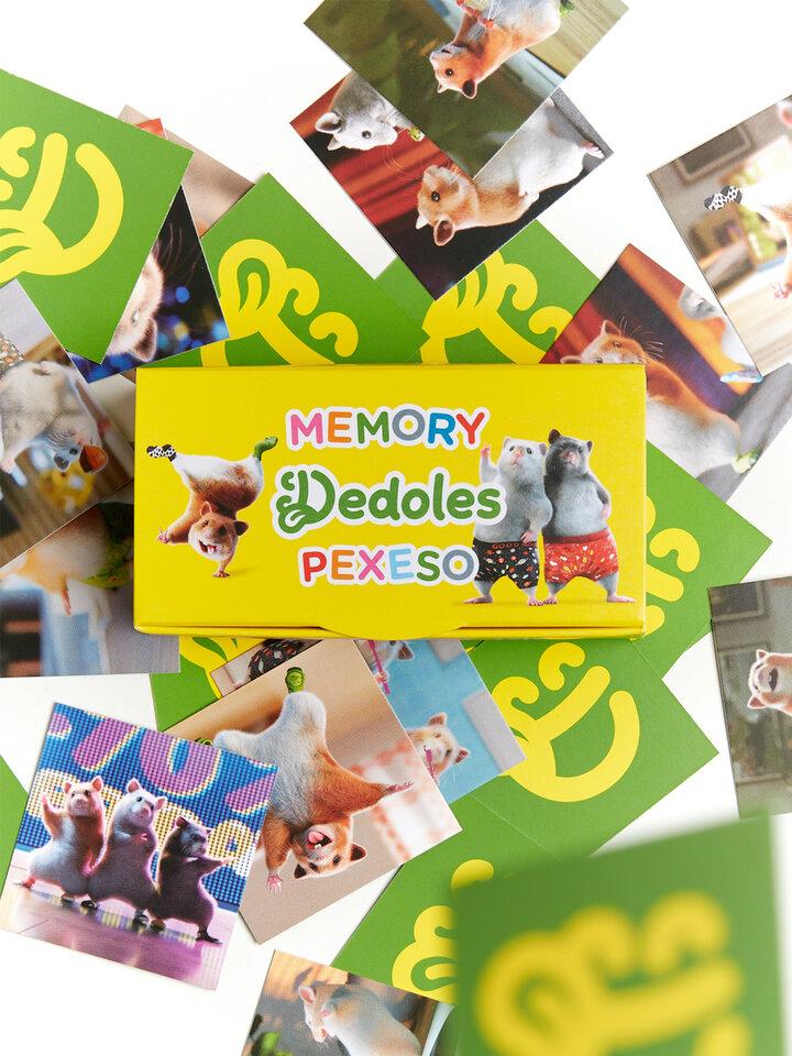 Potešte sa týmto kúskom Dedoles Wesoła gra Memory z chomikiem Dedoles