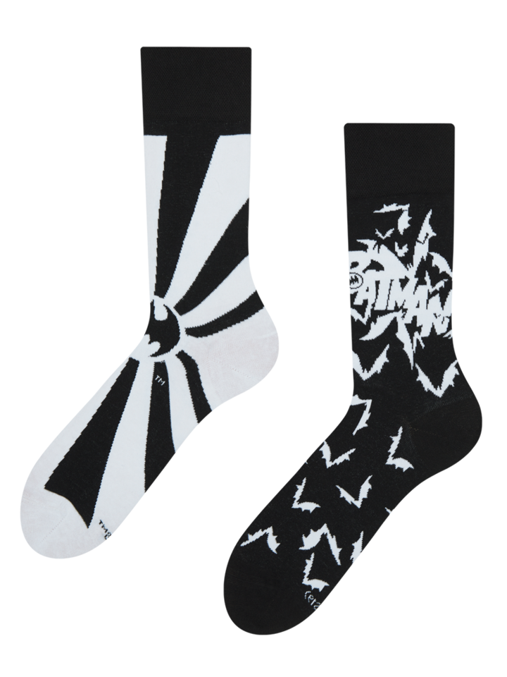 Looking for an original and unusual gift? The gifted person will surely surprise with Batman ™ Regular Socks Bats